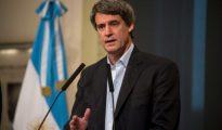 El ministro de Finanzas argentino Alfonso Prat-Gay