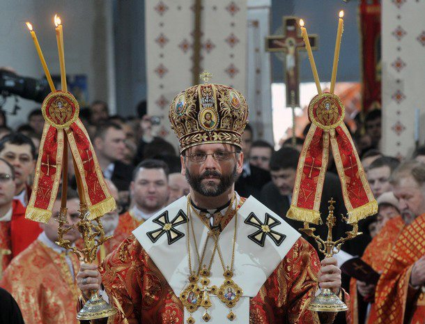 Arzobispo Sviatoslav Shevchuk, Primado de la Iglesia greco-católica ucraniana.