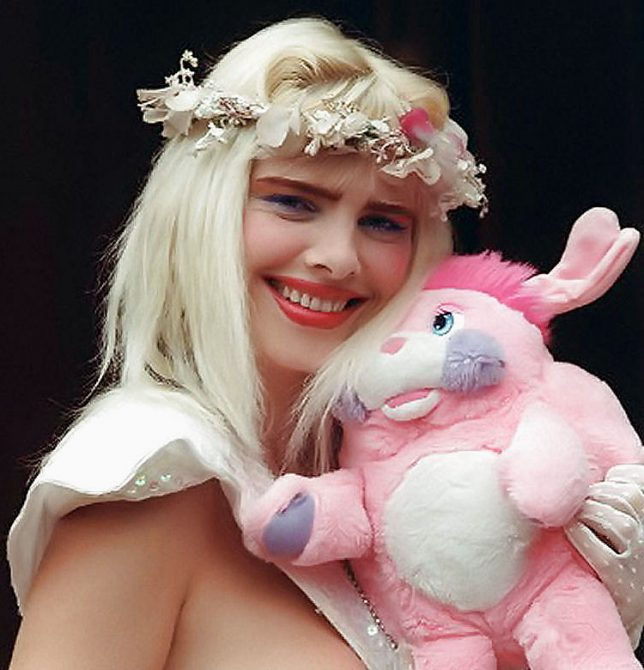 Ilona Staller, la actriz porno conocida como la Cicciolina