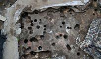 Fotografía distribuida el 5 de mayo de 2016 por el Instituto Nacional de Antropología e Historia de México en la que se ve el sitio arqueológico de Teotihuacán