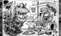 """""""Trumpgloditas"""", dice la caricatura de The Economist"""