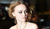 La hija de Johnny Depp y Vanessa Paradis, Lily-Rose Depp, el 13 de mayo en Cannes, en el sur de Francia.