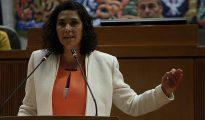 Susana Gaspar, portavoz de Ciudadanos en las Cortes de Aragón