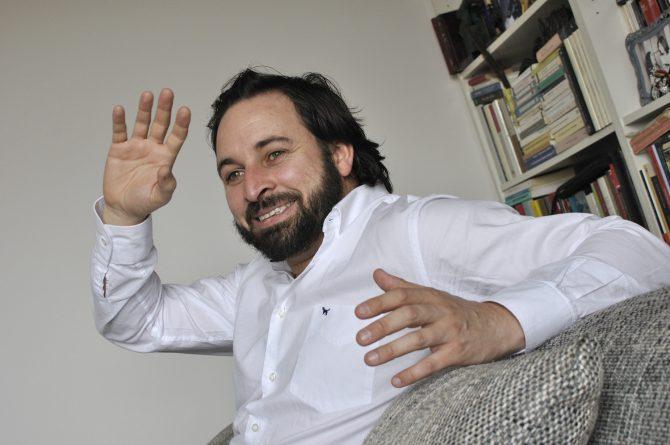 Santiago Abascal.