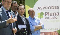 Rajoy, hoy en Salamanca.