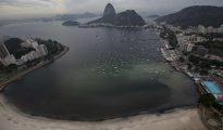 Mal olor, bacterias y heces en las aguas de Río