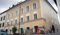 La casa natal de Hitler, en Braunau Am Inn (Austria).