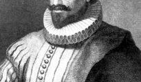 """Retrato del escritor Miguel de Cervantes Saavedra, autor de la obra cumbre de la literatura española, """"Don Quijote de La Mancha""""."""