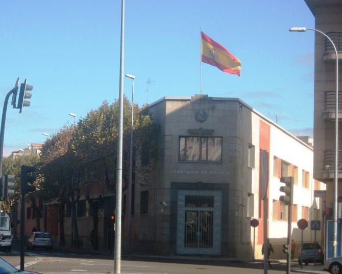 Comisaría de Policía Nacional de Zamora.