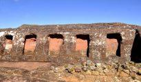 El Fuerte de Samaipata, a 120 km de Santa Cruz, un sitio arqueológico emblemático de Bolivia.