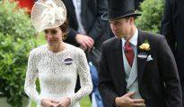 El príncipe Guillermo y su esposa Kate.