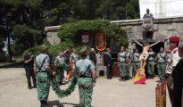 Acto de homenaje al teniente coronel Valenzuela.