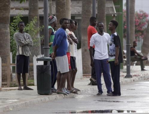 Más de 25 ilegales subsaharianos han conseguido llegar al Centro de Estancia Temporal de Inmigrantes (CETI).