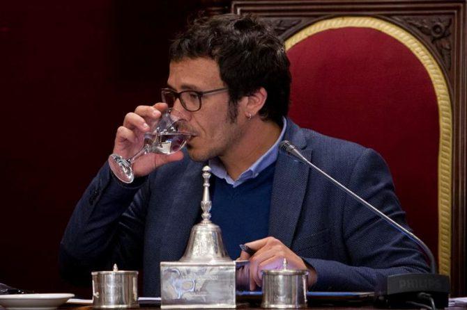"""El alcalde de Cádiz de Podemos, José María González Santos """"Kichi""""."""