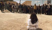 Foto de archivo de una lapidación en Irak.