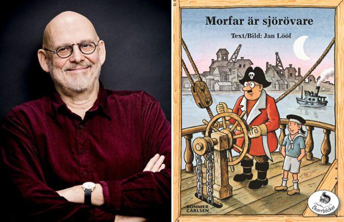 A Jan Lööf, unos de los escritores infantiles más populares de Suecia, su editor le dijo recientemente que su bestseller de 1966, 'Mi abuelo es pirata', quedaría fuera del mercado a menos que lo hiciera más políticamente correcto y cambiara las ilustraciones.