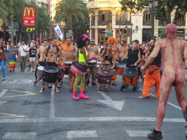 Imagen del Día del Orgullo Gay de Valencia.