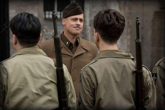 Brad Pitt en 'Malditos Bastardos'.