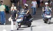 Agentes de la Policía Nacional en Córdoba.