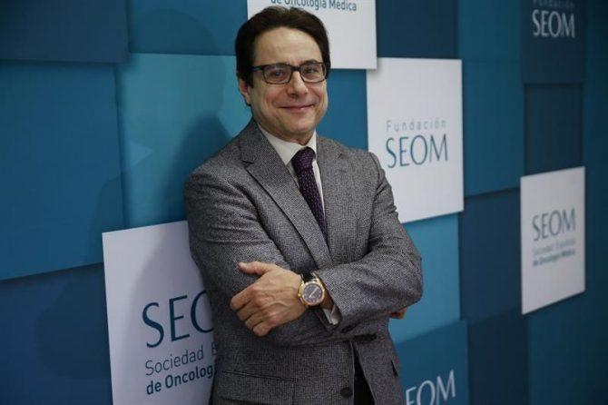 El presidente de la Sociedad Española de Oncología Médica (SEOM), Miguel Martín.