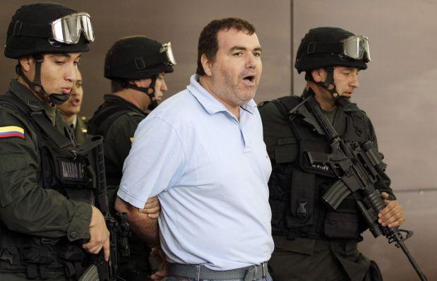 Walid Makled cuando fue detenido en Colombia.