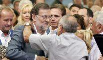 Rajoy, en Lérida.