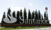 Sede del Banco Santander en la ciudad financiera de Boadilla del Monte (Madrid)