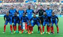 Imagen de la selección francesa de fútbol.