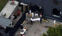 Exteriores de la discoteca gay 'Pulse' tras el atentado.
