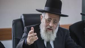 El Gran Rabino, Yitzhak Yosef.