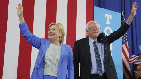 El apoyo de Sanders es fundamental para Clinton