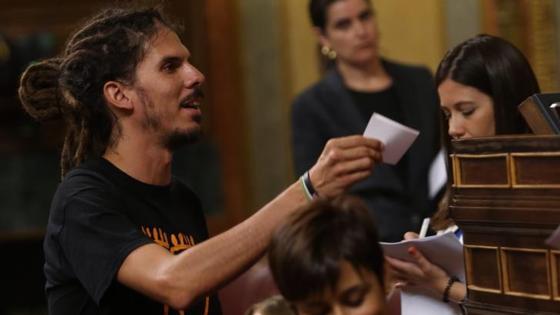 Alberto Rodríguez, diputado de Podemos.