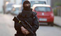 La policía asegura el área de Ansbach donde se produjo el atentado