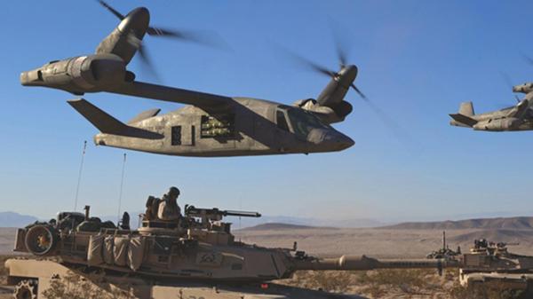 V-280, el prototipo de Bell que Estados Unidos podrá probar a partir de septiembre de 2017