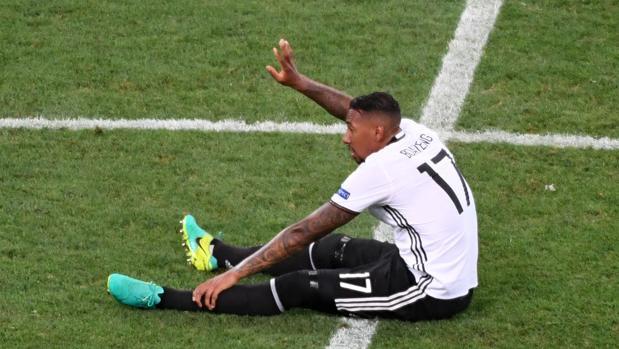 Boateng, lesionado durante el Alemania-Francia