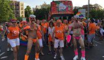 Miembros de Ciudadanos en el desfile del Orgullo Gay.
