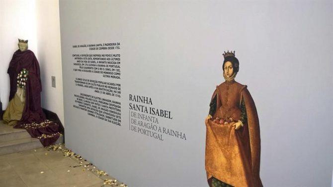Entrada a la exposición dedicada a la figura de Santa Isabel (Zaragoza, 1271 - Estremoz, Portugal, 1336).