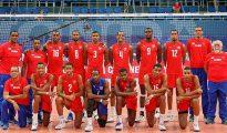 La selección cubana de voleibol