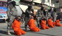 Los terroristas del Estado Isámico decapitan a los futbolistas sirios en plena calle de Raqqa