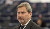 El comisario europeo de Vecindad y Negociaciones para la Ampliación, Johannes Hahn.