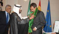 Zapatero recibe el homenaje del rey de Arabia