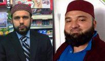 Asad Shah (i) debió escapar en 1991 hacia Escocia por el odio religioso en Pakistán. A la derecha, Tanveer Ahmed, el sunita que no toleró discutir con otro musulmán que tenía creencias diferentes a las suyas.