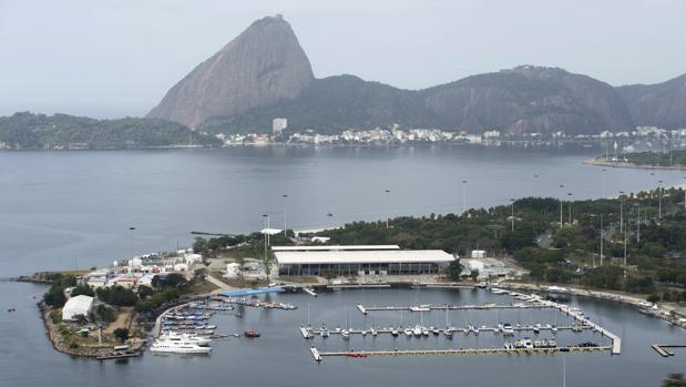 Imagen del puerto de Marina da Gloria