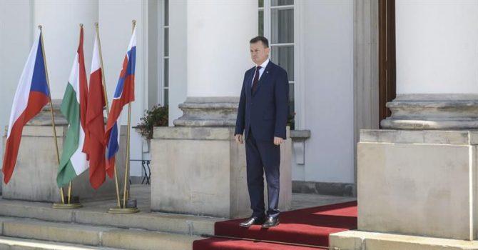 El ministro interior de Polonia, Mariusz Blaszczak.