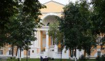 Vista general del Ministerio de Deportes en Moscú.