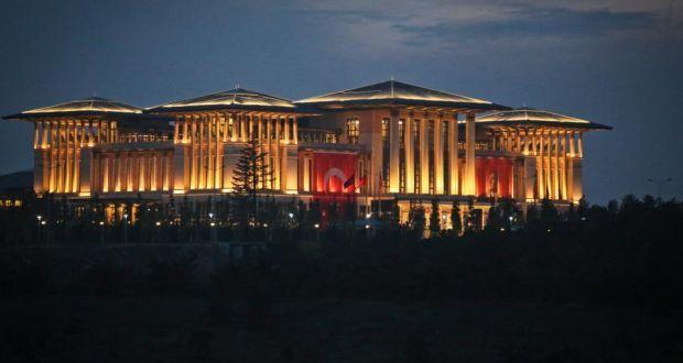 El Palacio Blanco, lugar de residencia de Erdogan