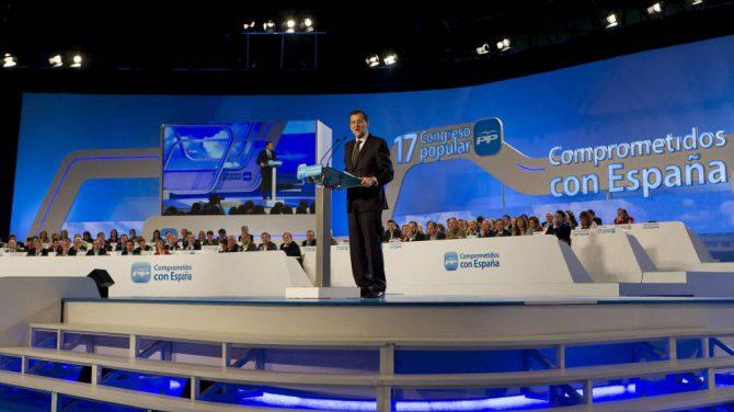 Reunión del comité ejecutivo nacional del PP el día después de las elecciones del 26-J.
