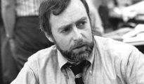 El corresponsal del periódico The New York Times Sydney Schanberg, en una imagen del 15 de junio de 1976
