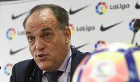 El presidente de La Liga espera que el jugador no abandone Barcelona, ya que supone un gran aval para el país.