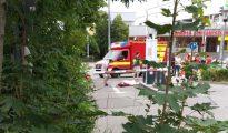 Imágenes del atentado de hoy en Múnich.